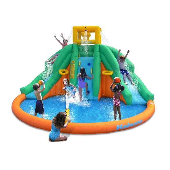 90475 Kahuna Twin Peaks Inflatable Water Slide Park 1