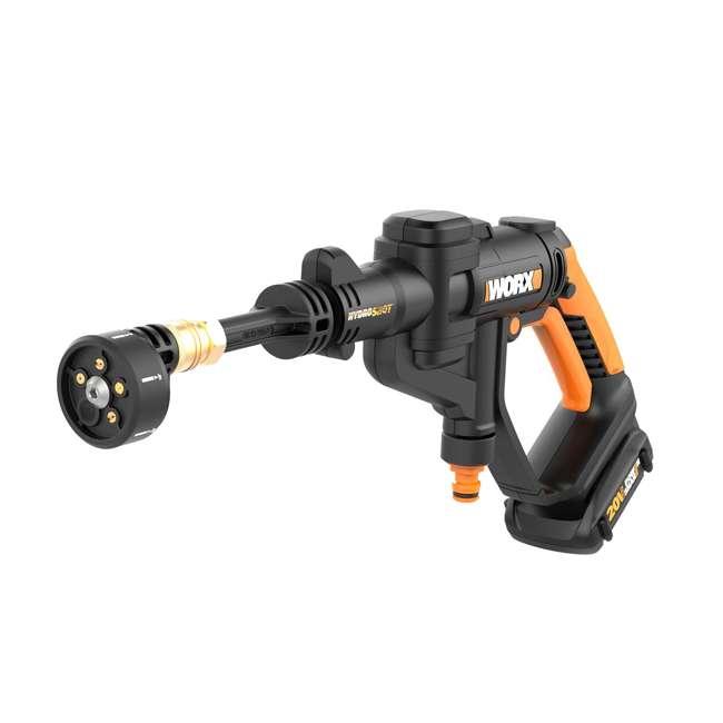 Worx Hydroshot 20 Volt 320 Psi Cordless Power Cleaner Set