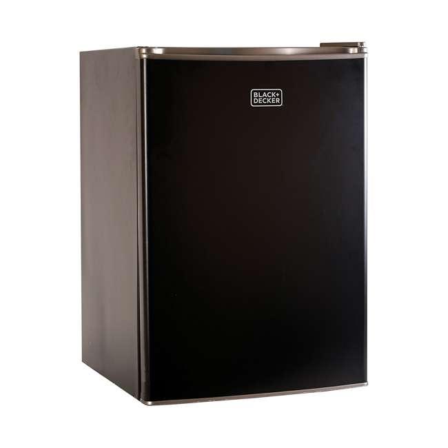 BCRK25B-U-A Black and Decker 2.5 Cubic Foot Energy Star Refrigerator with Freezer (Open Box)