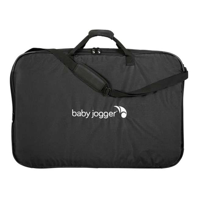 2050322 + 1968004 Baby Jogger City Mini 3 Wheel Single Stroller + Padded Travel Carry Bag 7