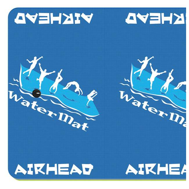 AHWM-11 Airhead 11x5' WaterMat Roll N Go Flotation Device, Blue  (2 Pack) 2