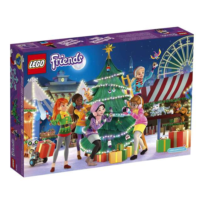 6251675 LEGO Friends 41382 2019 Advent Calendar Building Kit w/ 1 Mia Mini-Doll Figure 3