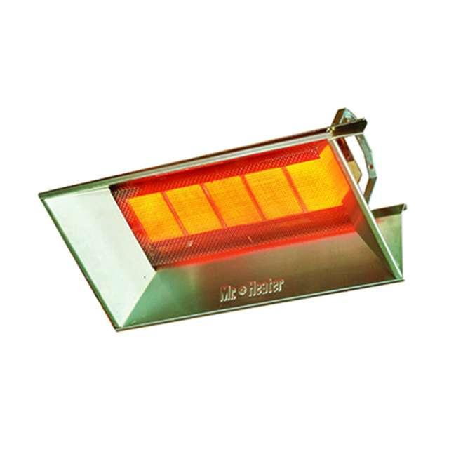 MH-F272700 Mr. Heater 40,000 BTU Propane Gas Steel High-Intensity Radiant Workshop Heater 1