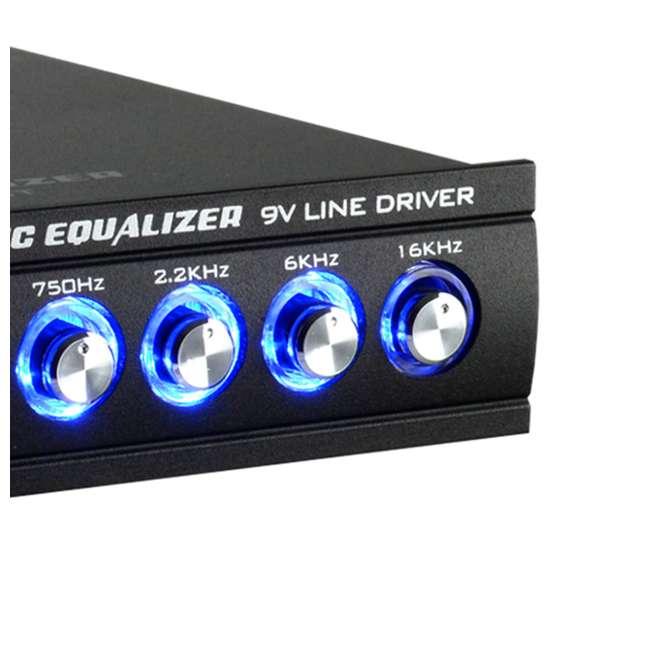 EQ-709X Audiopipe EQ-709X 7-Band Parametric Graphic Car Audio Equalizer 2