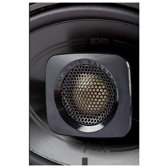 DB462 + 43DSC504 Polk Audio 150W Speakers w/ Kicker 200W Car Audio Speakers 4