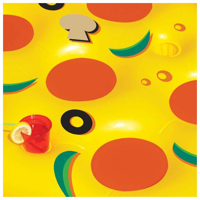 90645 Swimline Inflatable Pizza Slice Pool Float Raft 3