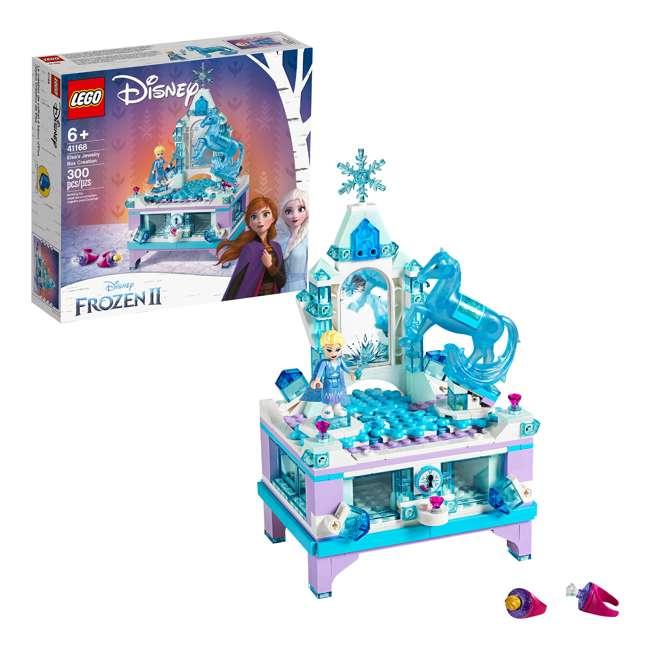 6251063 LEGO 41168 Frozen II Elsa's Jewelry Box Block Building Kit w/ 2 Minifigures 3