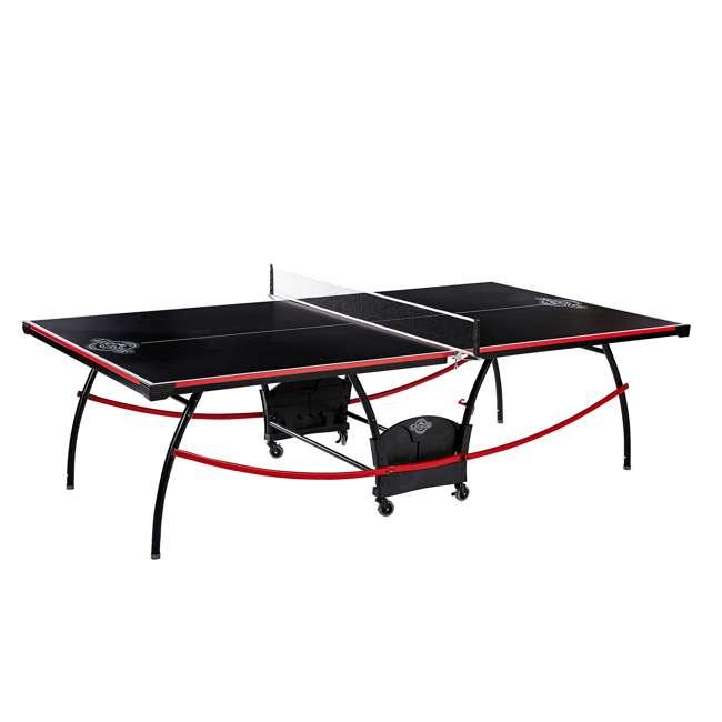 TTT218_108P Lancaster Tournament Folding Table Tennis Table