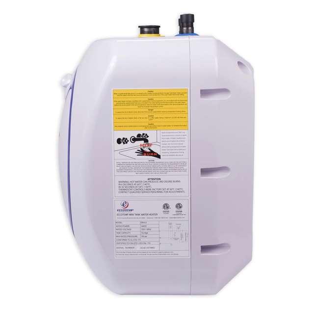 EM-4.0 Eccotemp EM 4 Gallon Under Sink Electric Mini Storage Tank Hot Water Heater 3