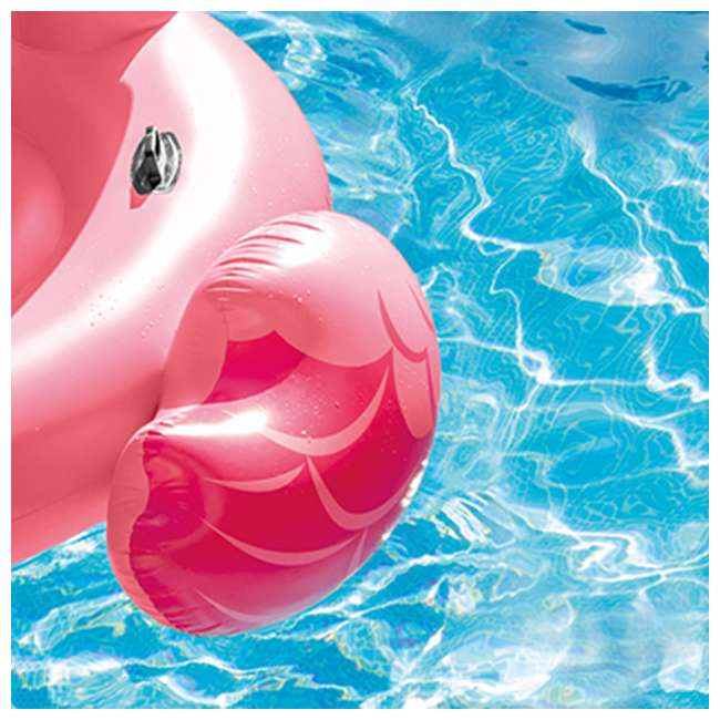 3 x 56288EP-U-A Intex Inflatable Ride-On 86-In Mega Flamingo Island Float (Open Box) (3 Pack) 4