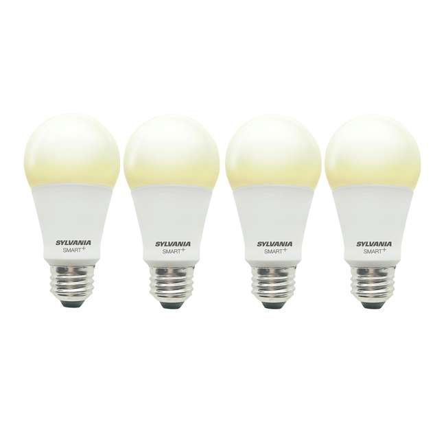 4 x SYL-74579 Sylvania Smart+ Bluetooth A19 LED Light Bulb (4 Pack)
