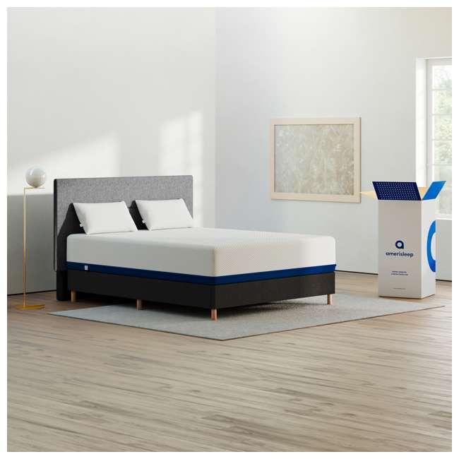 AS5-Q Amerisleep AS5 Soft Feel Bio Core Comfort Foam Queen Size Mattress, White 3