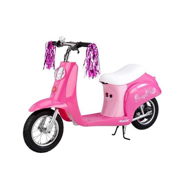 15130659-U-B Razor Pocket Mod Euro Girls Electric Scooter Sweet Pea (Used)