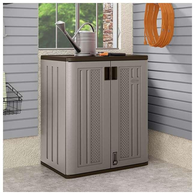 12 x BMC3600 Suncast Garage Base Storage Cabinet, Platinum (12 Pack) 3