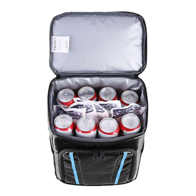 TR2103002A001 TOURIT TR2103002A001 Nomad Insulated Lightweight Lunch Cooler 30 Can Backpack 5