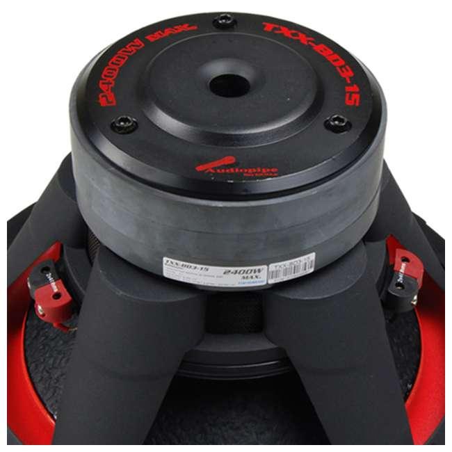 TXXBDC315 Audiopipe TXX-BD3-15 15-Inch 2400W Subwoofer 3