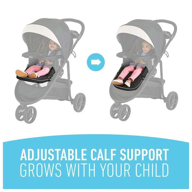 2083432 Graco 2083432 Modes 3 Lite DLX Folding Convertible Toddler Baby Stroller, Pierce 5