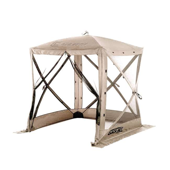 CLAM-TV-114243 Clam Quick-Set Traveler Portable Outdoor Gazebo (2 Pack) 1