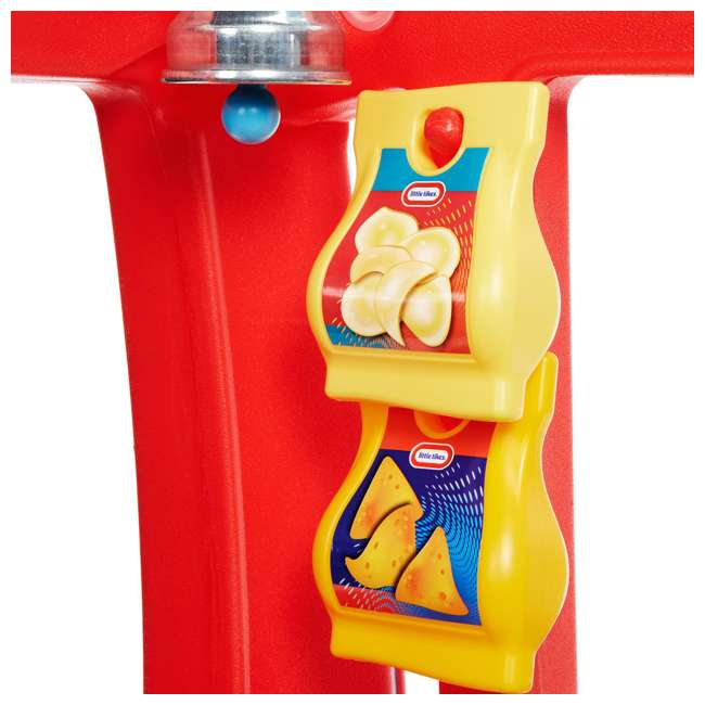 643644M Little Tikes 2-in-1 Kids Pretend Play Pop Up Ice Cream and Food Truck 7