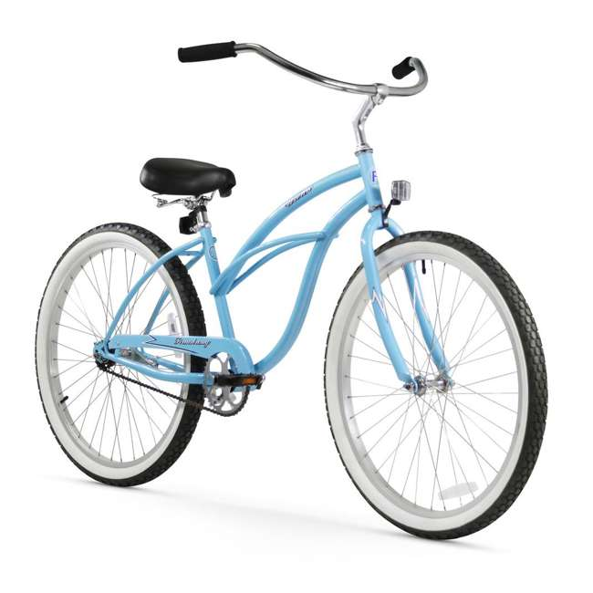 "14301 Firmstrong Urban Lady Women's 26"" Beach Cruiser Bike, Baby Blue"