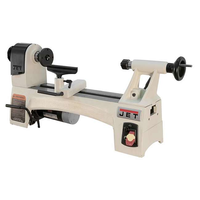 JET-719110 Jet JWL-1015VS 10 Inch by 15 Inch Variable Spindle Speed Woodworking Mini Lathe
