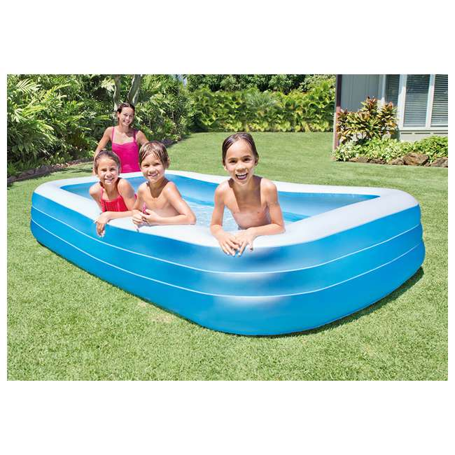 "3 x 58484EP-U-A INTEX Swim Center Family Swimming Pool - 72"" x 120"" 
