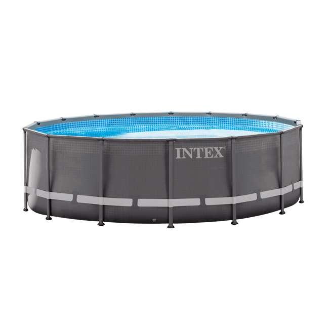 "28323EH Intex 16' x 48"" Ultra Frame Swimming Pool Set & 1200 GPH Sand Filter Pump"