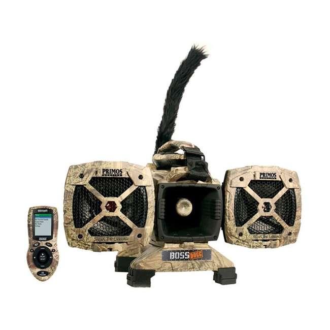 PRM-3757 Primos Boss Dogg 150W 5 Speaker Predator Caller with Decoy & Remote