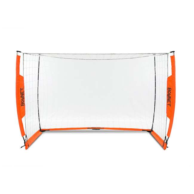 Bow4x6-U-B Bownet 4 Foot x 6 Foot Youth Training Practice Soccer Goal, Orange (Used) 1