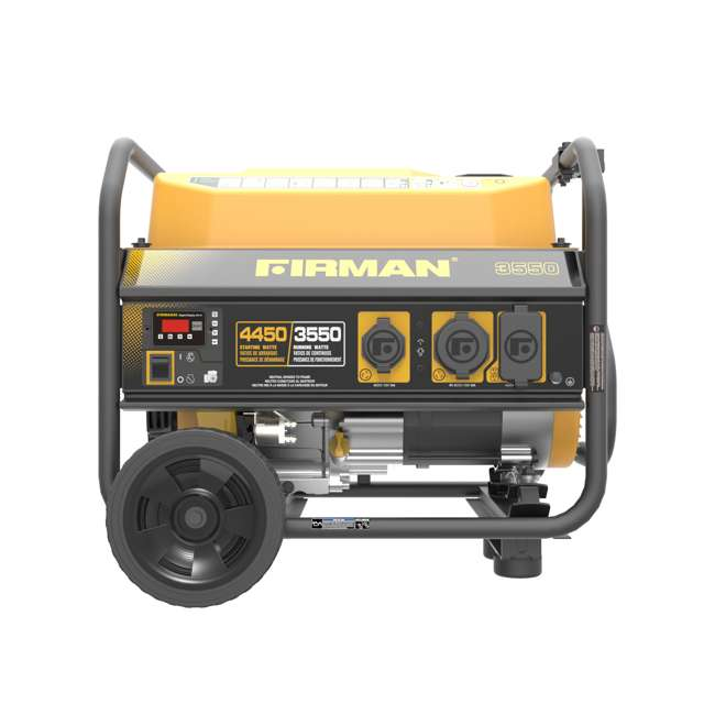 P03602 Firman P03602 3650W Wheeled Electric Recoil Start Inverter Generator