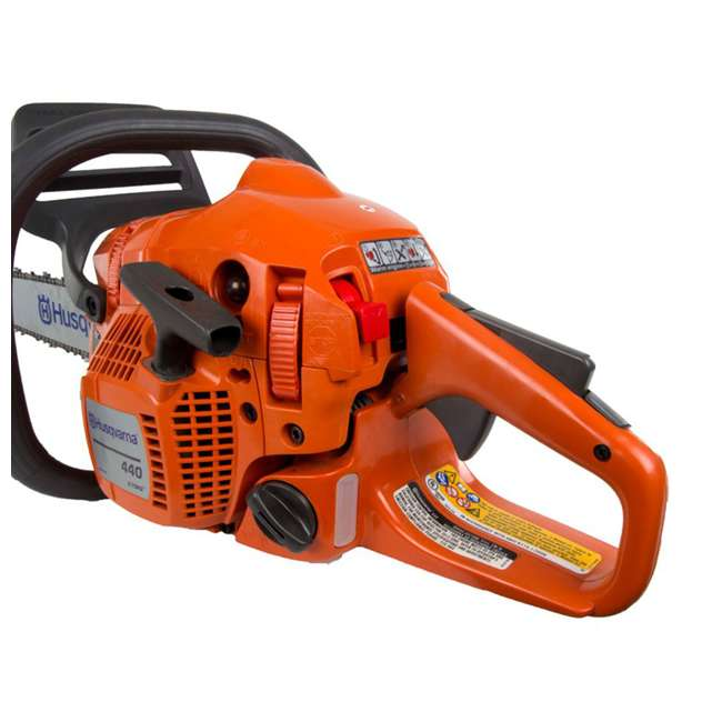 "967166003-BRC-RB-U-C Husqvarna 440 18"" 40.9cc 2.4HP 2 Cycle Gas Chainsaw (Refurb) (For Parts)(2 Pack) 2"