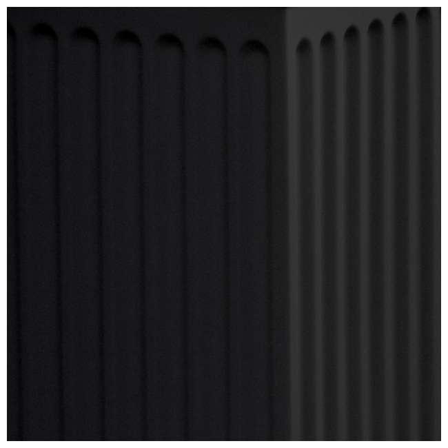 SV-COL-BLK Good Ideas Savannah Outdoor Patio Column 30 Gallon Storage and Waste Bin, Black 2