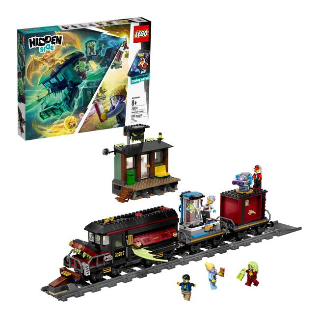 6250516 LEGO AR 70424 Ghost Train Express 689 Piece Block Building Kit w/ 5 Minifigures 5