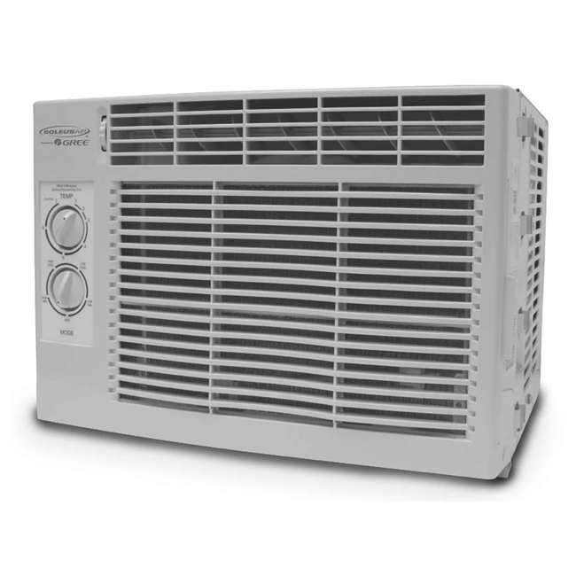 soleusair 5 000 btu window air conditioner g w05. Black Bedroom Furniture Sets. Home Design Ideas