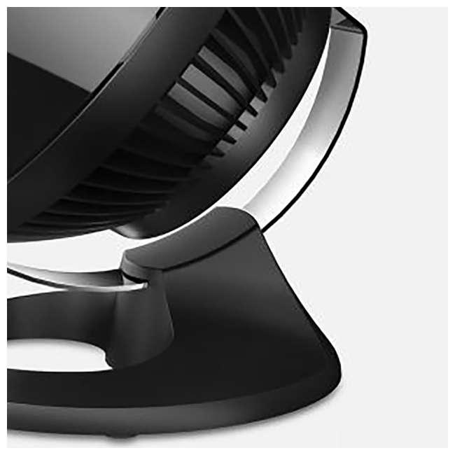 VOR-560-BLACK Vornado 560 Medium Air Circulator Floor Fan, Black (2 Pack) 4
