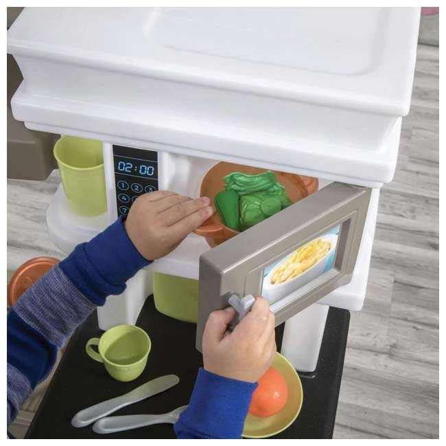 879799 Step2 Plastic Pretend Play Modern Metro Kitchen 5