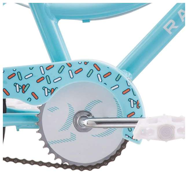 14-1510100 Raleigh Bikes Lightweight Frame Jazzi 12 Kids Bike with Training Wheels, Blue 2