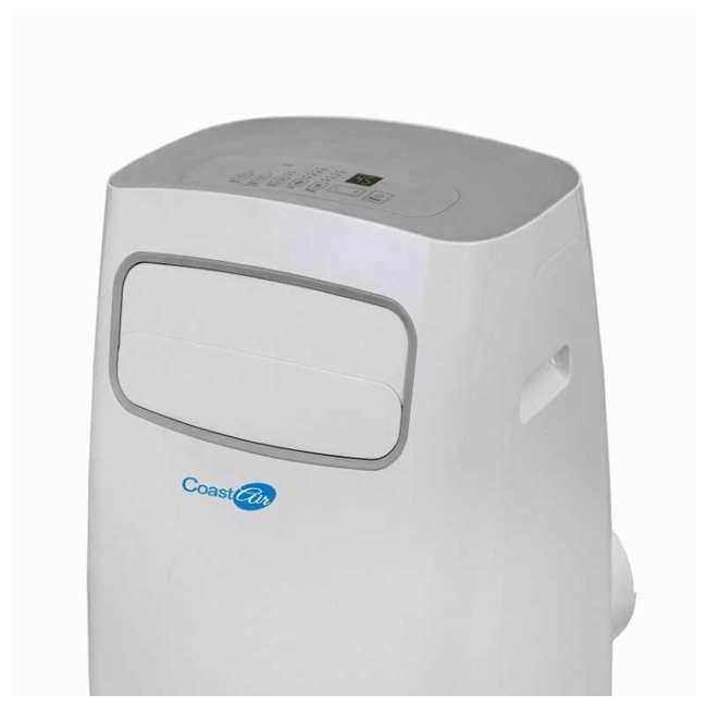 CEP-081A Coast Air CEP-081A 8000 BTUs Portable Wheeled Air Conditioner Floor Unit, White 3