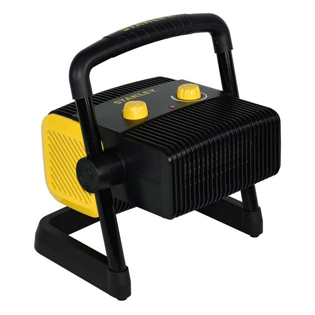 ST-300A-120 Stanley ST-300A-120 Heavy Duty 1500W Portable Forced Air Electric Heater, Black