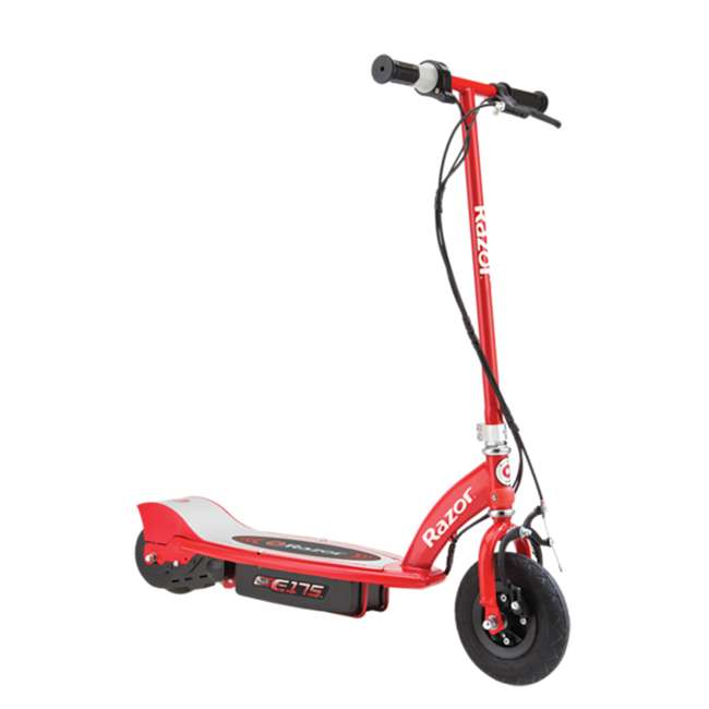 13111259-U-A Razor E175 Electric Scooter, Red (Open Box)