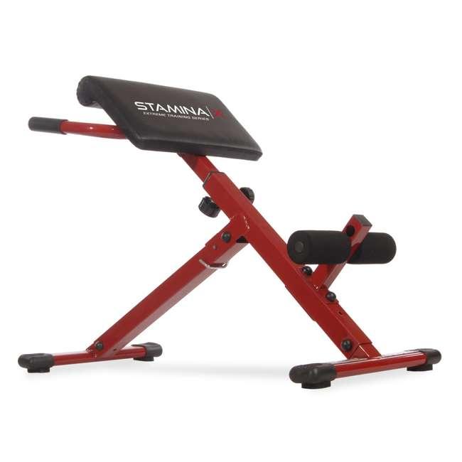 Remarkable Stamina X Abdominal Workout Hyperextension Bench Ibusinesslaw Wood Chair Design Ideas Ibusinesslaworg