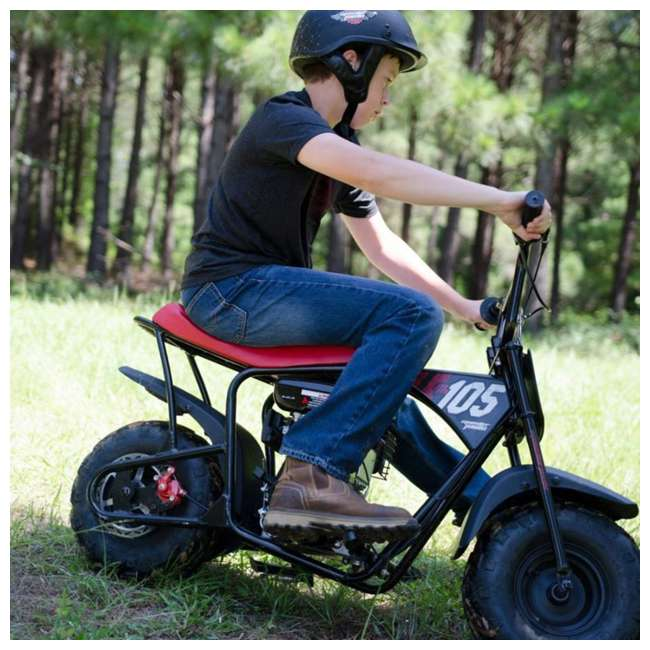 MM-B105 Monster Moto 105cc Gas-Powered Off-Road Mini Dirt Bike  5