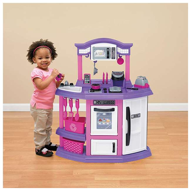 APT-11710 American Plastic Toys Kids First Bakers Kitchen Playset with 22 Accessories  2