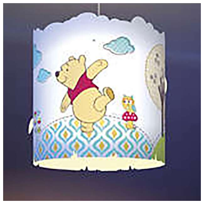 PLC-7175134U0 2) Philips Disney Winnie the Pooh Suspension Light Lampshade  5