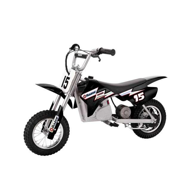 15128099 + 97775 Razor MX350 Dirt Rocket Bike with Helmet 1