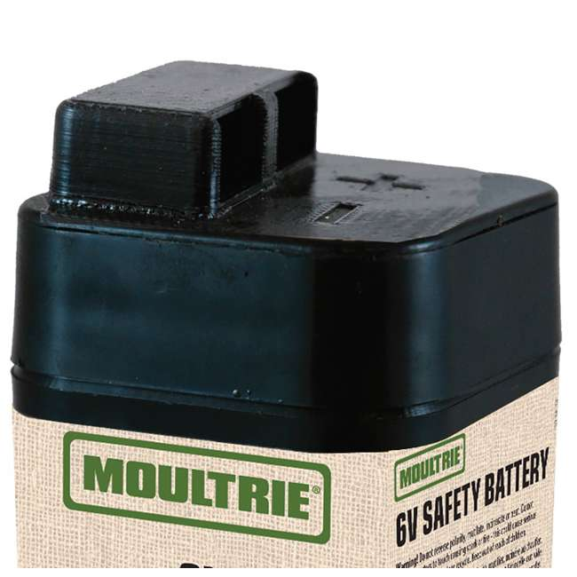 MFHP12406 Moultrie 6 Volt Rechargeable Safety Feeder Battery 2
