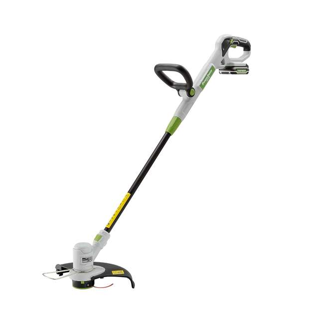 PGT120 + PLB12040 PowerSmith 20V Max Cordless Battery Powered Lawn String Trimmer w/ Extra Battery 3