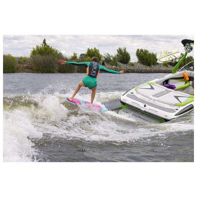 4531-ET7-12 O'Neill Womens Slasher Competition Waterskiing/Wakeboarding Vest, Size 8, Mist 4