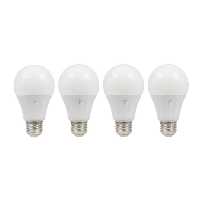SYL-74768-4PK SYVLANIA Smart Home 60W A19 LED Light Bulb, Soft White (8 Pack)