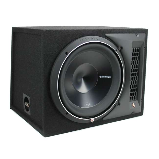 P3-1X12 Rockford Fosgate P3-1X12 12-Inch 1200W Single Loaded Subwoofer Enclosure